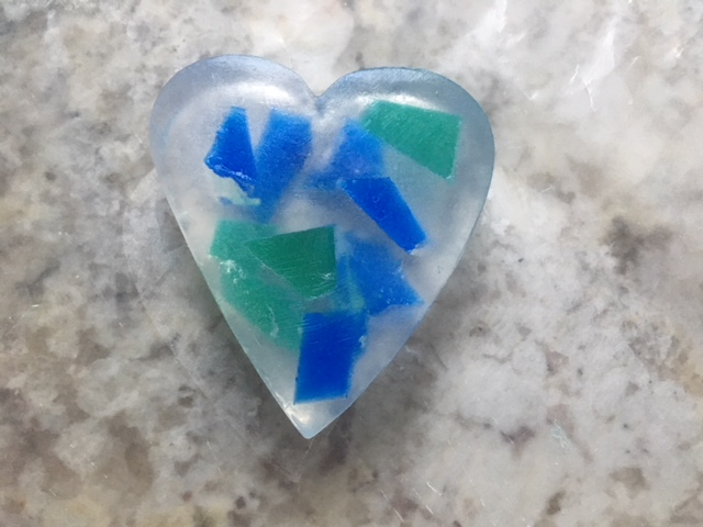 Romantic Heart-Shaped Soap for Valentine's Day