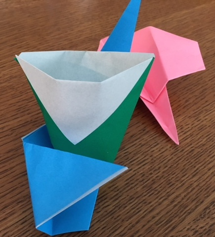 Origami Madness: One Paper Cup and Two Paper AirplanesLater