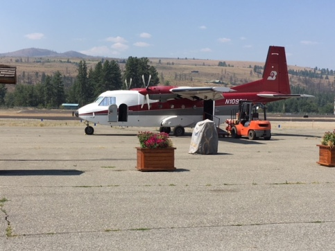 Plane for Smoke Jumpers, Photo by Cecilia Kennedy