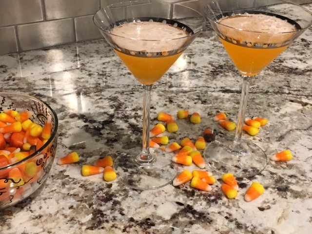 Beware of the Candy Corn Cocktail
