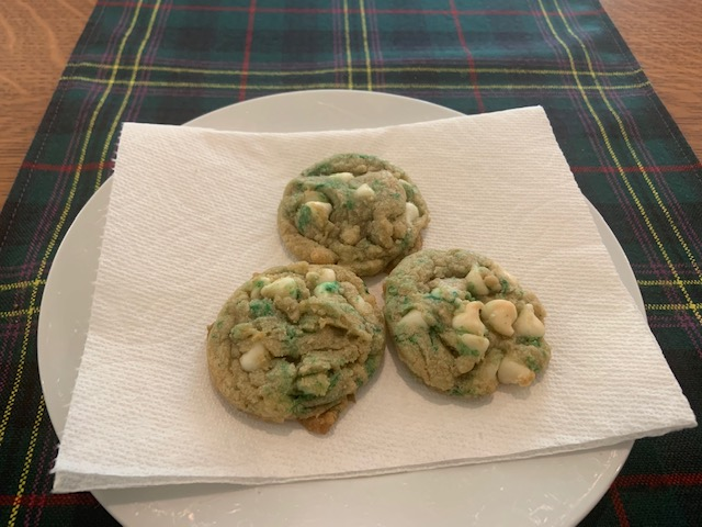 """Safe Distance"" St. Patrick's Day Cookies"