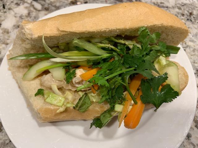 Spring Chicken Sandwiches